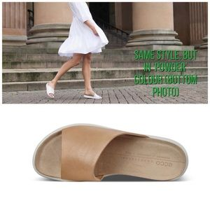 Ecco Corksphere Slip-on Sandals